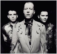 The Reverend Horton Heat (with altar boys?)