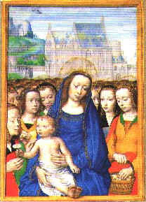 Madonna and Child with Virgins, c. 1500