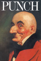 Punch, the character, on the cover of Punch, the periodical.