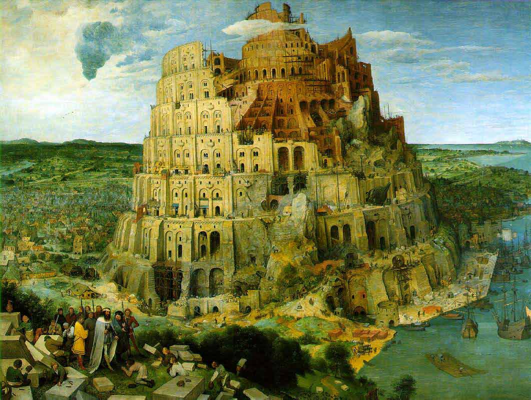 The Tower of Babel (Breughel)