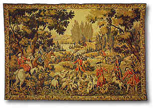 A 17th century French hunting scene