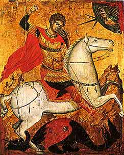 St. George is also patron saint of Greece
