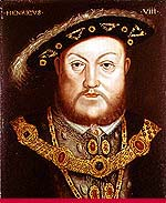 Henry VIII himself.  Click to learn more about the Tudors.
