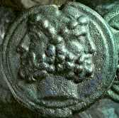 Coin depicting Janus