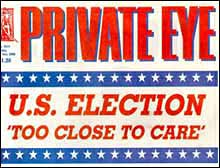 """Private Eye"" the satirical magazine"