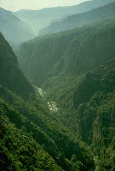 The Adonis Valley.  Click to visit a site of photographs of Lebanon.