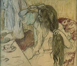 Degas' Lady and her Toilette